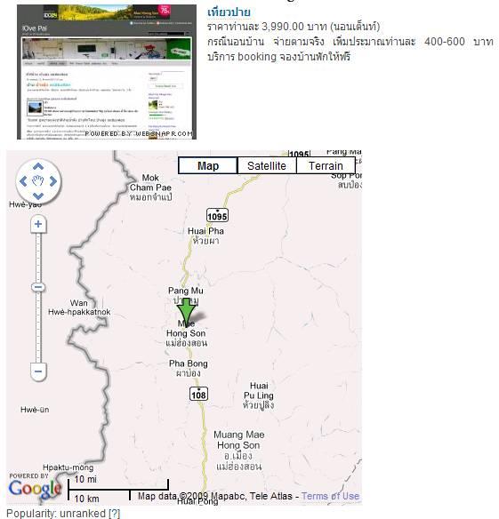 wp digg, google map