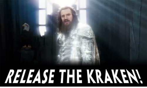 release the kraken, คราเคน